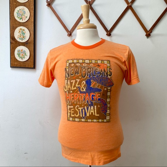 Vintage Jazz & Heritage Festival New Orleans Tee